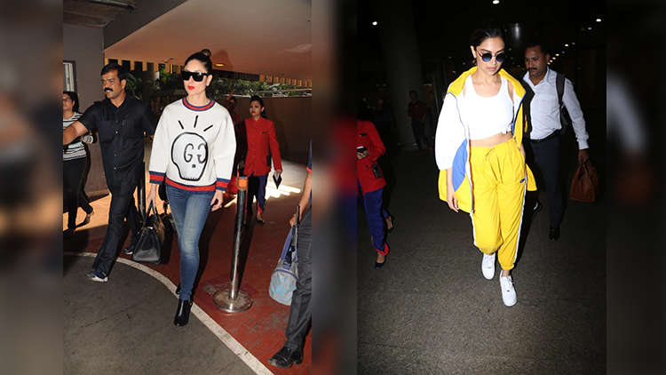Anushka Sharma, Katrina Kaif, Kareena Kapoor and Deepika Padukone's Best Airport Looks That You Just Can't MISS