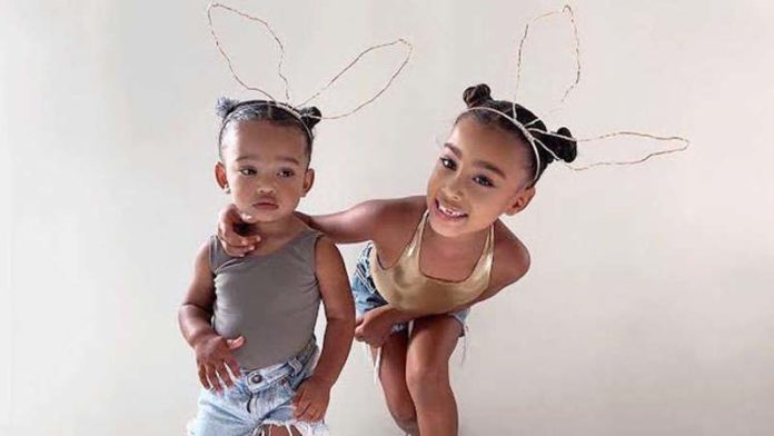 Keeping Up With The West Sisters: North Dresses Little Sister Chicago in Adorable Matching Outfits!