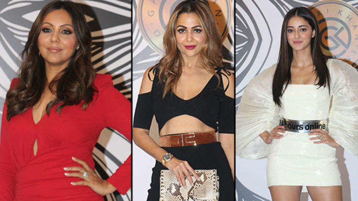 King Khan and wife Gauri's lavish bash attended by gala of Bollywood celebs
