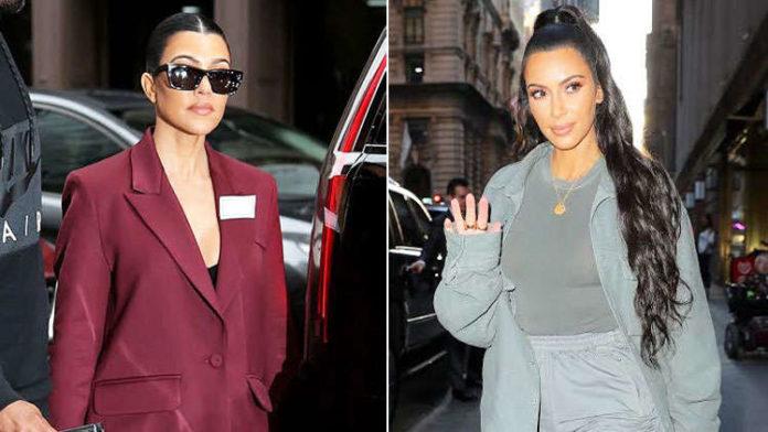 Kourtney & Kim Kardashian decide on having separate B-Day parties on the same day
