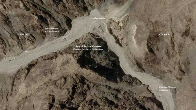 Ladakh face-off: Satellite pics show China brought machinery, increased activity at Galwan before clash