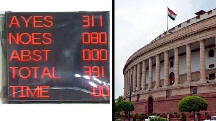 Lok Sabha passes Citizenship (Amendment) Bill, 2019 with 311-80 votes