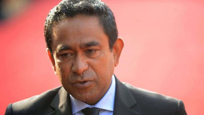 Maldives ex-Prez Yameen sentenced to 5 yrs in jail for money laundering