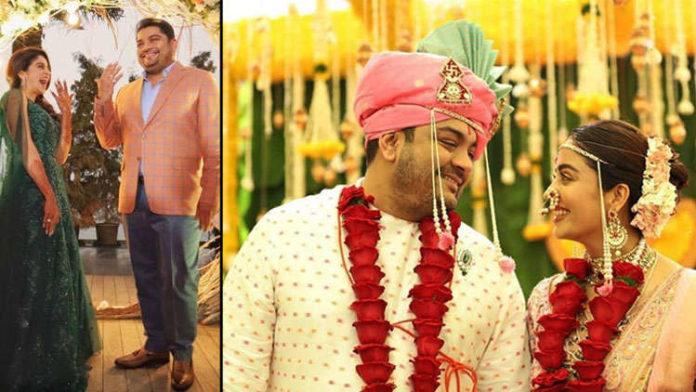 Marathi actress Neha Pendse married to boyfriend Shardul Singh Bayas in Pune