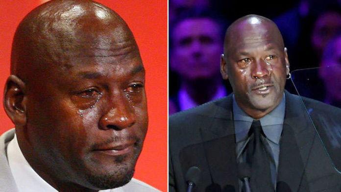 Michael Jordan JOKES at Kobe Bryant's Memorial amidst tears