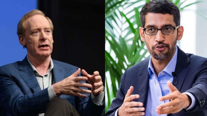 Microsoft disagrees while Pichai backs temporary ban on facial recognition