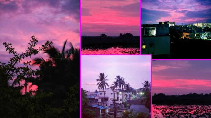 Pics: Skies turn 'pink' in Bhubaneswar after Cyclone Amphan makes landfall