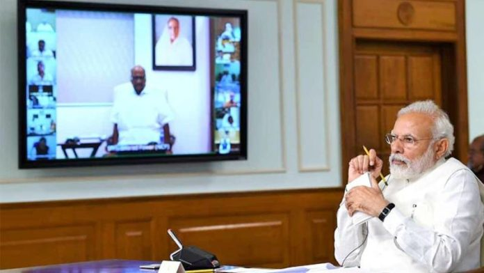 PM Modi to chief ministers: Green shoots have begun to be visible in economy