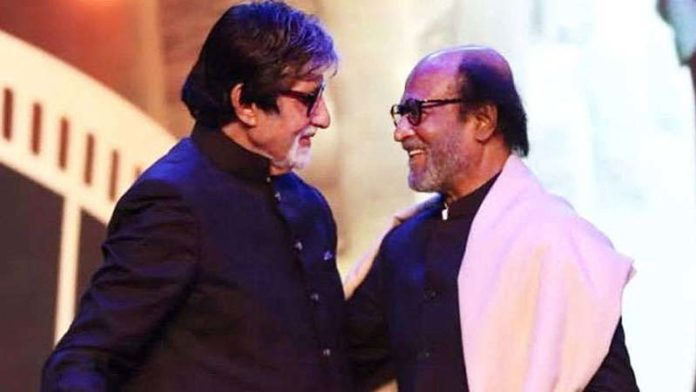 Rajinikanth talks about his friendship with Amitabh Bachchan & how he looks upto him