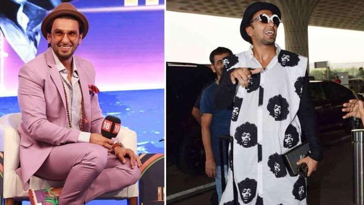 Ranveer Singh Top Craziest Outfits.