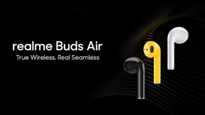 Realme Buds Air to launch in India on December 17