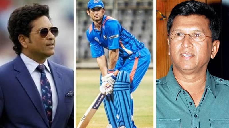 Sachin Tendulkar was left stunned when he saw Sushant Singh Rajput batting: Kiran More