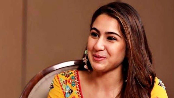 Sara Ali Khan Gives A Befitting Reply To The Nepotism Controversy