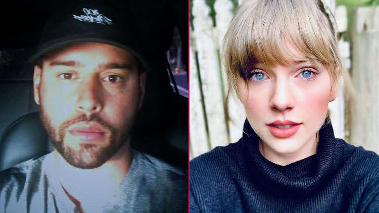Scooter Braun reveals his wife & kids are threatened by Taylor Swift's fans amid feud!
