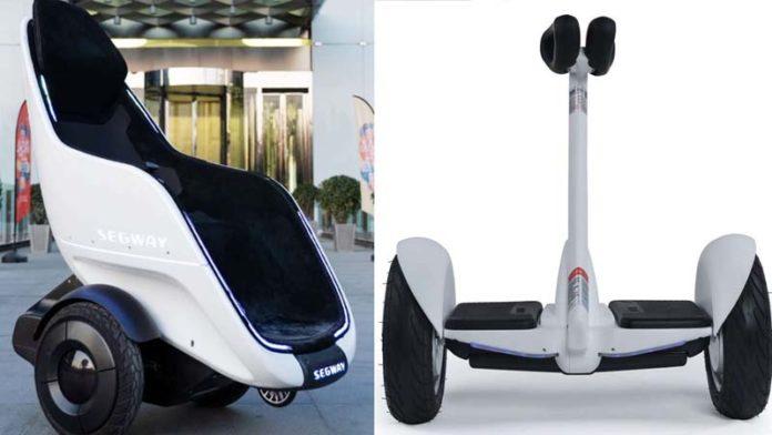 Segway-Ninebot unveils a self-balancing transportation pod