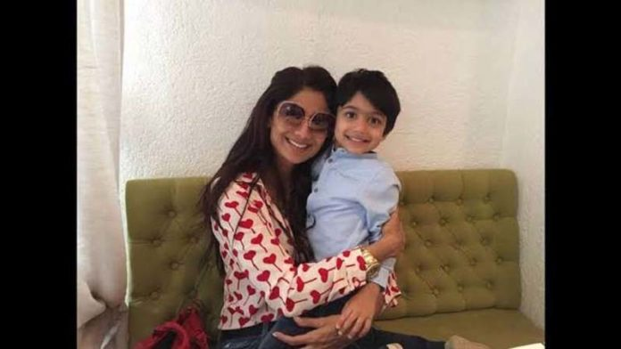 Shilpa Shetty With Son Viaans Goofy And Super Cute Pictures