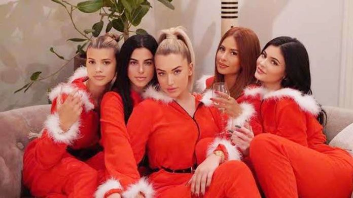 Sofia Richie Parties With Kylie & Stassie Ahead of Xmas With The KarJenners!