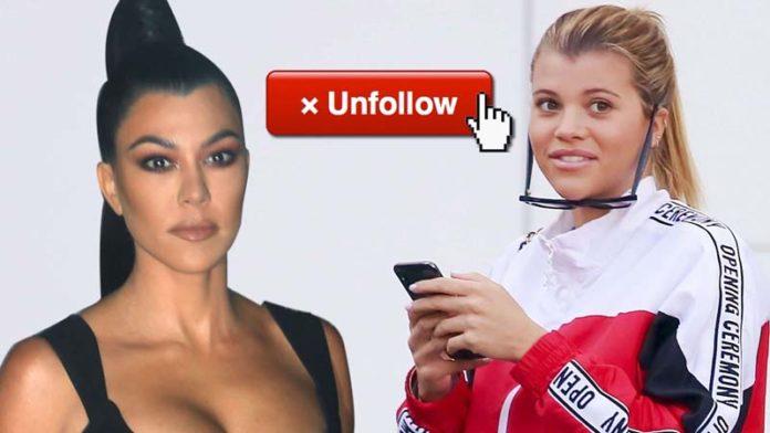 Sofia Richie UNFOLLOWS Kourtney Kardashian & Wants To Leave KUWTK