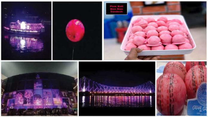 """Sweets Go Pink In Kolkata,"" – BCCI President Sourav Ganguly"