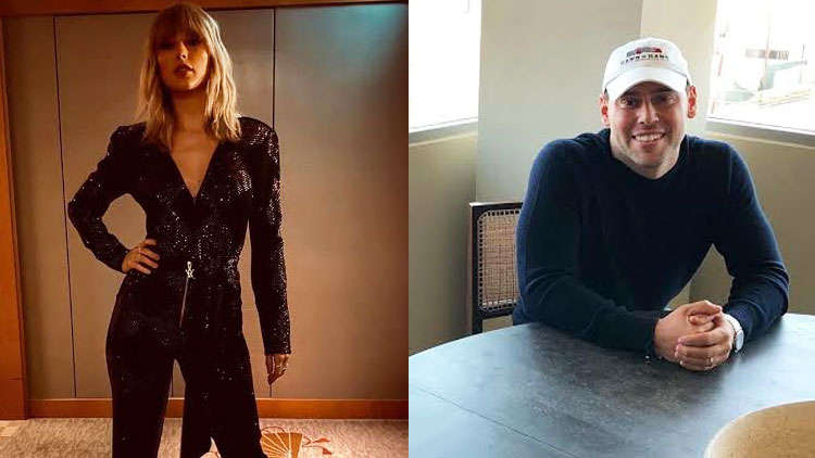 Taylor Swift doesn't address on going feud with Scooter Braun in her speech at the AMAs 2019