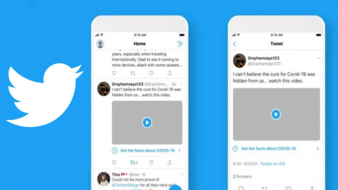 Twitter to add labels, warnings to tweets with misleading COVID-19 claims