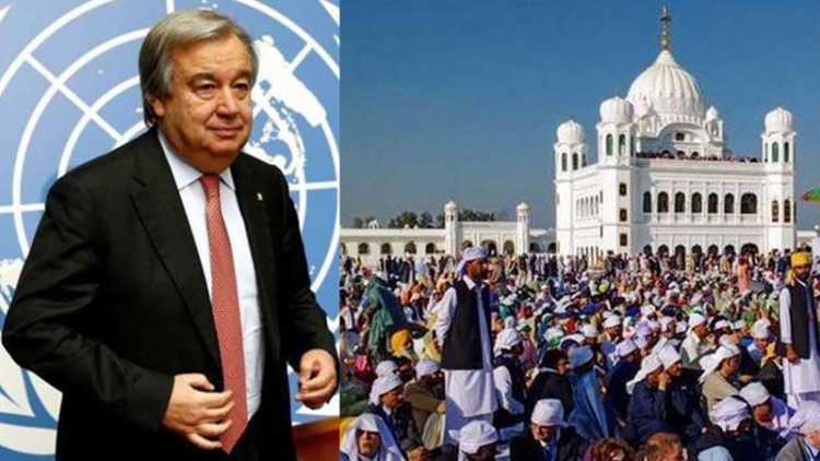 UN chief to visit Gurdwara Darbar Sahib in Kartarpur during Pakistan trip