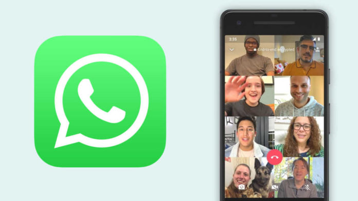 WhatsApp raises group voice and video call limit to 8 participants for all users