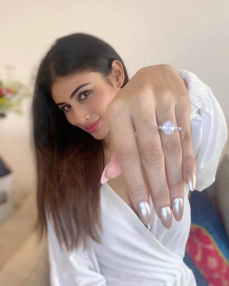 Did Mouni Roy Announce Her Engagement?