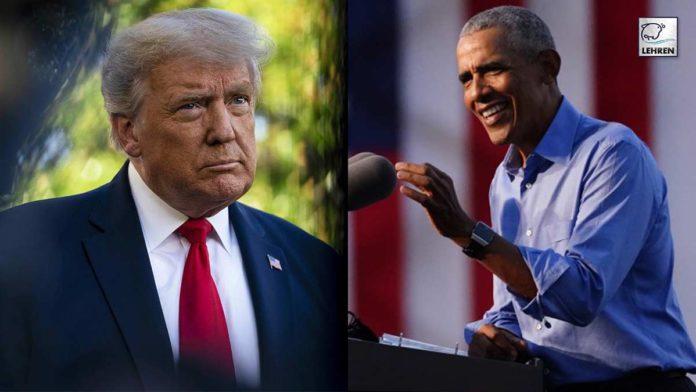 Barack Obama rips apart Donald trump