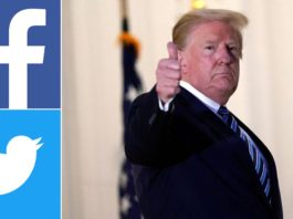 Facebook and Twitter take action