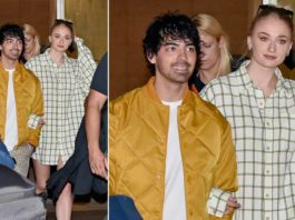 Joe Jonas & Wife Sophie Turner Spotted Out And About In LA For The 1st Time With Baby Willa