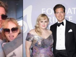 Rebel Wilson and Jacob Bausch