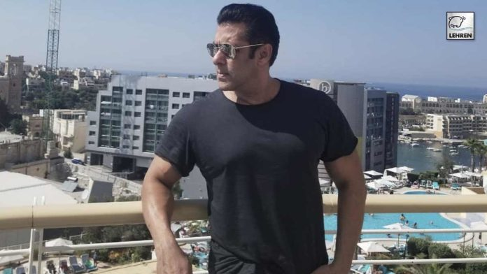 Salman Shoots Romantic Song