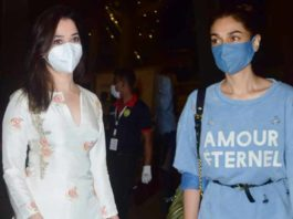 Airport spotting: Tamannaah Bhatia and Aditi Rao Hydari spotted together