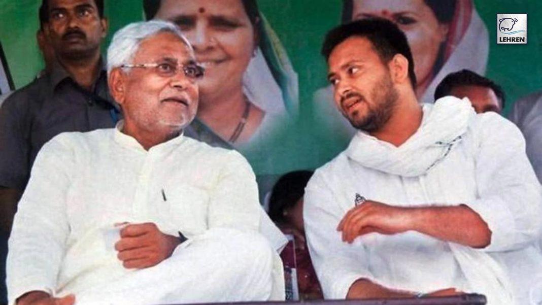 Tejashwi Yadav Reacts to Nitish Kumar