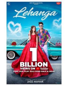Mahira Sharma Starrer Music Video Lehanga Crosses One Billion Views