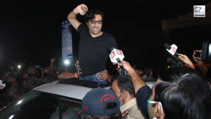 Arnab Goswami released