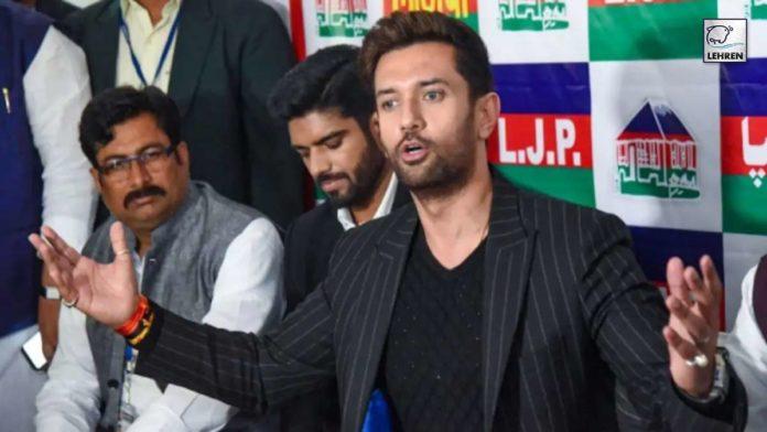 Chirag Paswan Slams Nitish Kumar