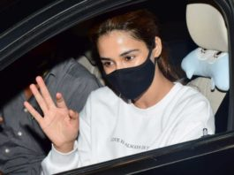 Disha Patani spotted as she steps out of a dance class in Juhu, Mumbai
