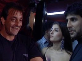 Grand Premiere Of Jodi No. 1 Sanjay Dutt Twinkle Khanna Flashback Video