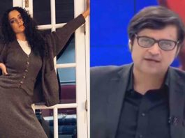 Kangana Roots For Arnab
