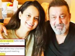 This Picture Of Kangana Ranaut With Sanjay Dutt Is Making People Angry