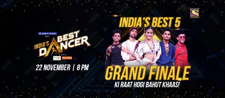 Get Ready To Witness A Thrilling Grand Finale Of India's Best Dancer