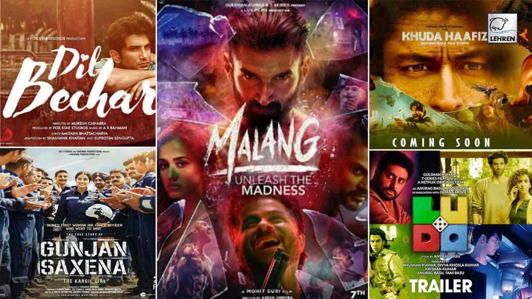 5 Bollywood Movies 2020