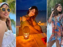Hina Khan's Latest Picture From Maldives Vacation Grabs Her Fans By The Eyeballs