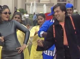Watch The Shooting Of Govinda And Raveena Tandon's Film Anari No. 1