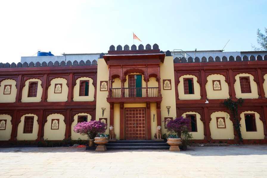 The Set Of Punyashlok Ahilyabai Was Built From Scratch