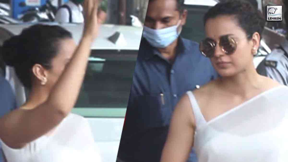 After Being Accused Of Sedition, Kangana Ranaut Visits ...