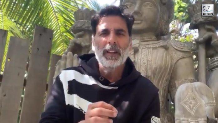 Akshay Kumar Urges People To Make Donations For Construction Of Ram Mandir