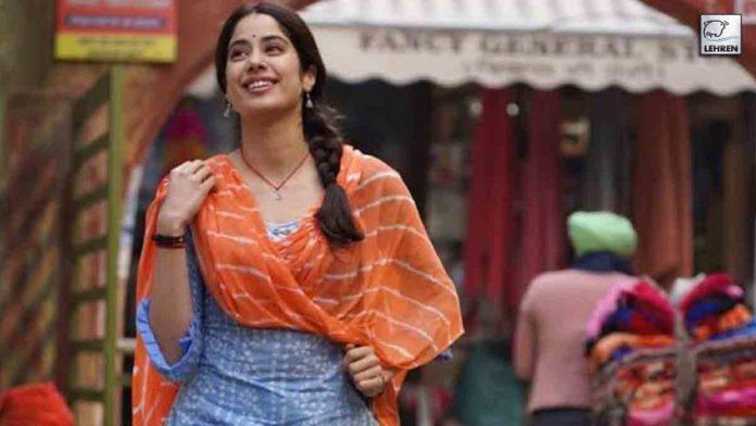 Janhvi Reveals First Glimpse